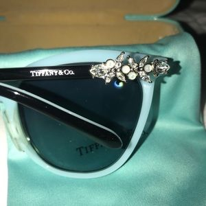 Tiffany cat eye frames/glasses